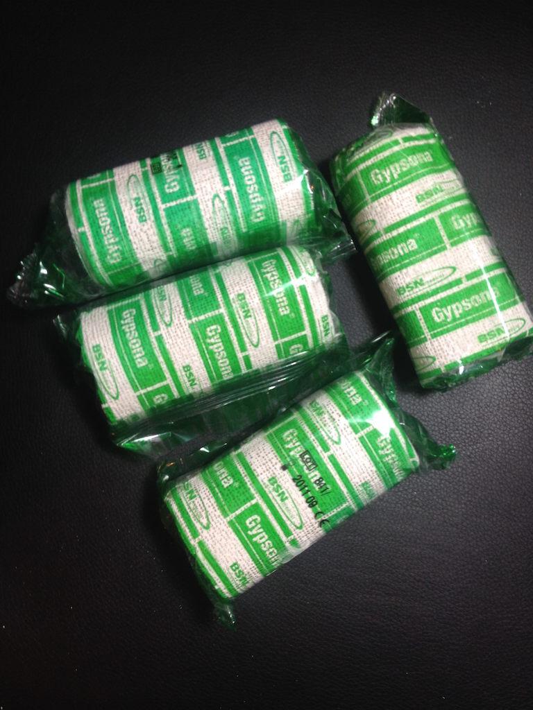 Gypsona Plaster bandages