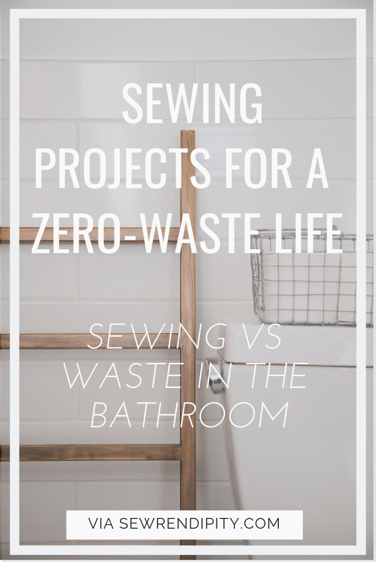Sewing vs waste in the bathroom
