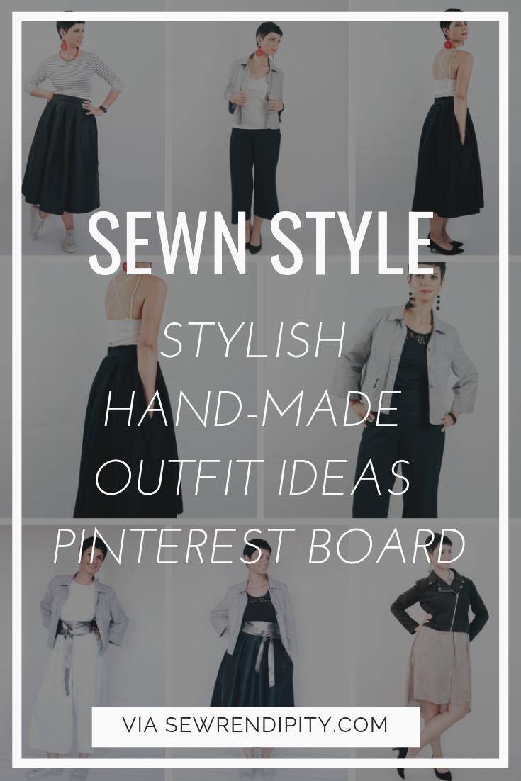 WANT MORE STYLE INSPIRATION? CHECK OUT MY PINTEREST BOARD WITH INSPIRING HANDMADE OUTFITS BY SEWING PEOPLE WITH FABULOUS STYLE.