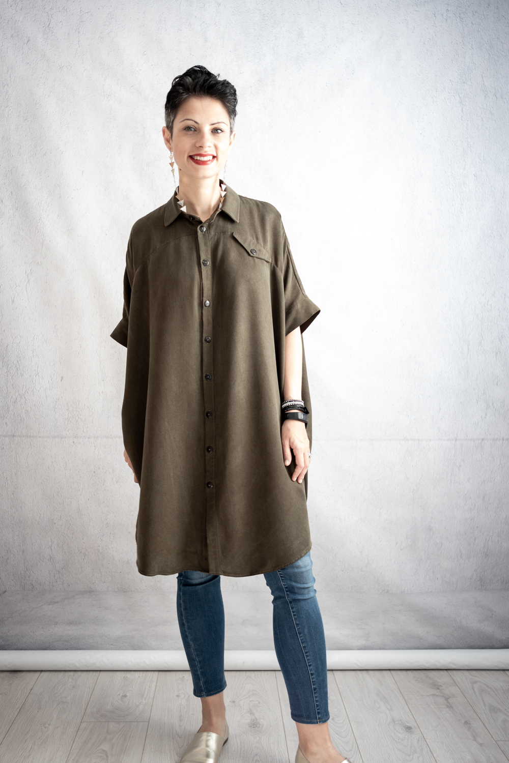 Ralph Pink Sahara Shirt Dress
