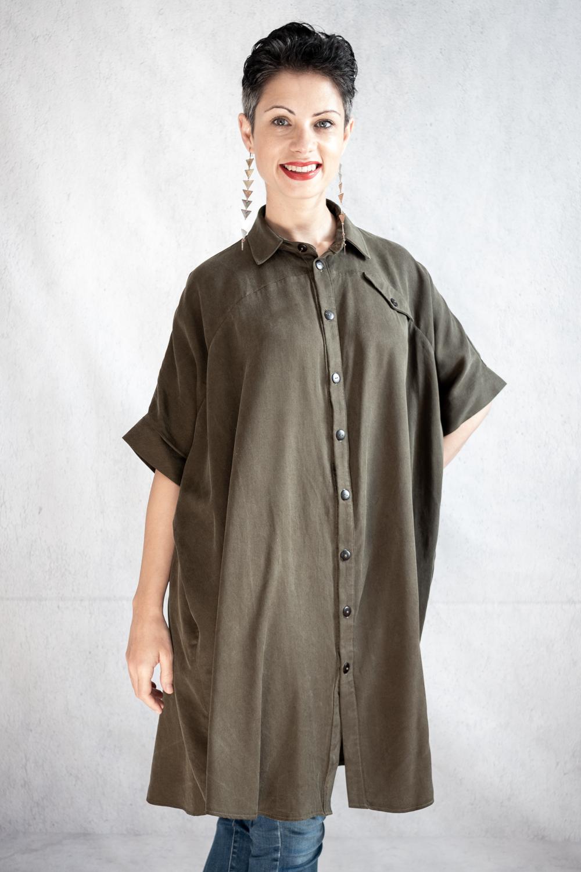 Ralph Pink Sahara Shirt Dress