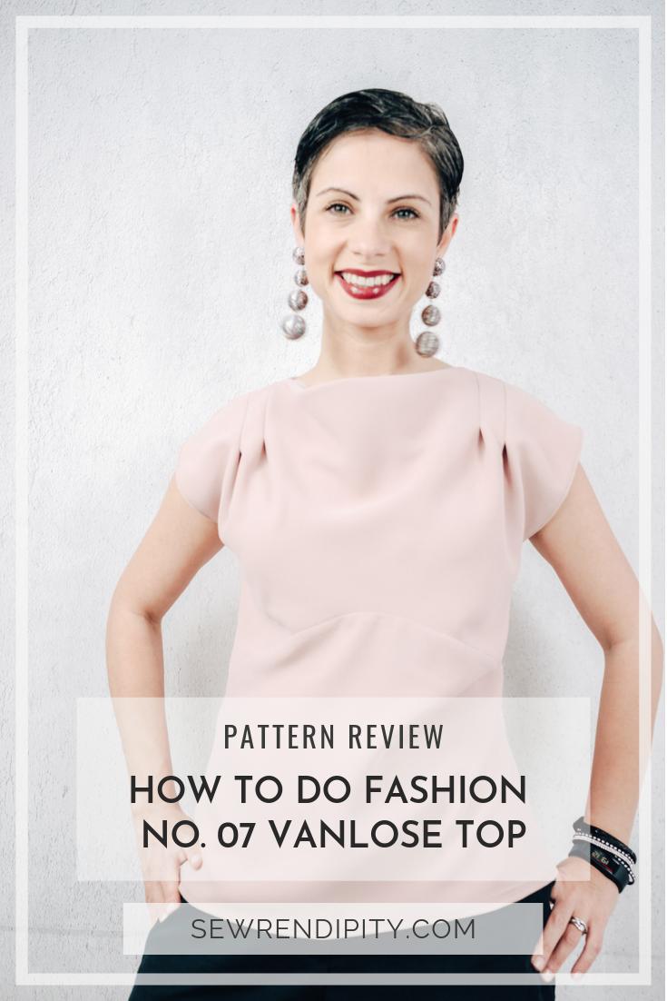 How to Do Fashion No.07 Vanlose Top