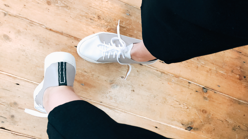 I MADE MY OWN TRAINERS AND SO CAN YOU