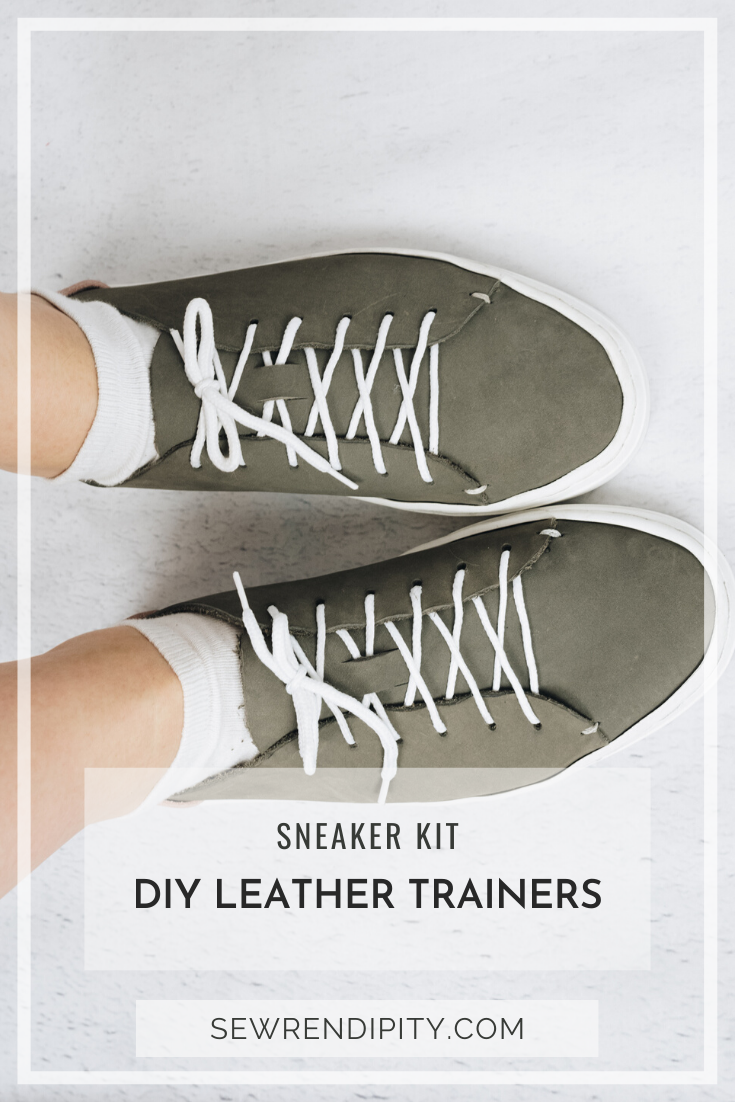 Can you make trainers by hand? Yes, yes you can! It's easier than you think, all made by hand, no machines