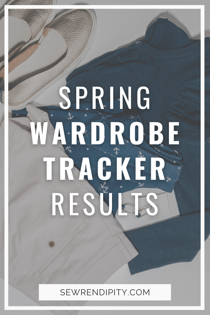 I've been tracking what I wore every day this spring (April to June). Here is what I found out. Sewing | OOTD | Minimalism | Outfits