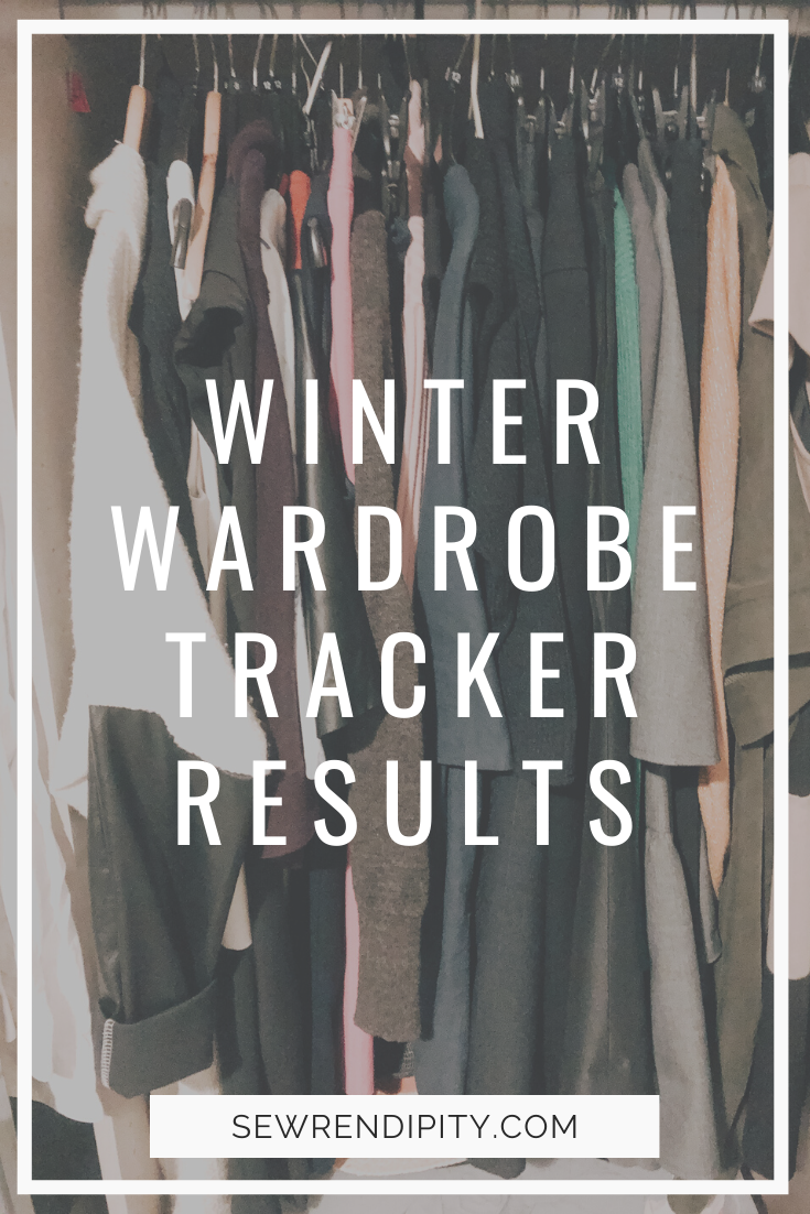 Winter wardrobe tracker results