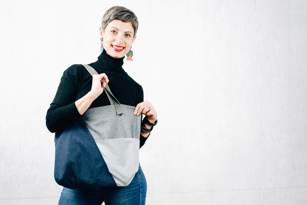 Zero Waste Tote Bag - Time to Sew